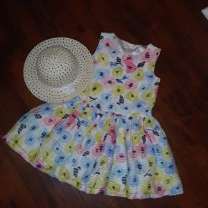 Cherokee girls tulle lined Sleeveless Dress sz 6X